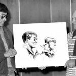 1974.02-Vehlow, Maxine of George & Lombard with drawing